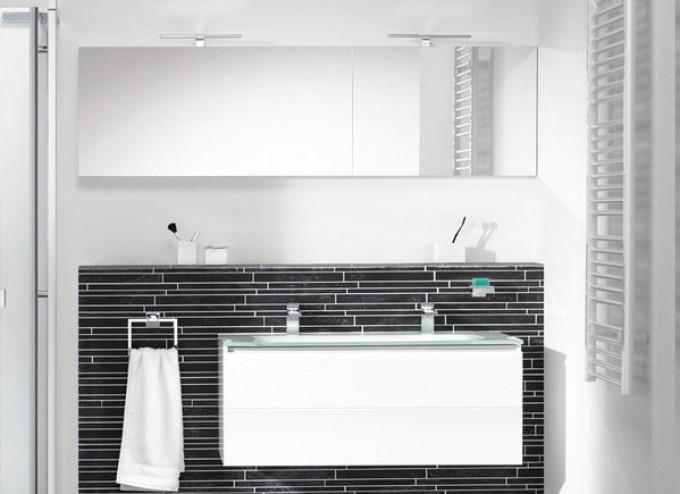 Badkamermeubel items cm wit hoogglans